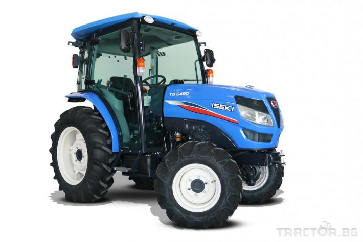 Трактори Iseki TG 6495 с кабина 0 - Трактор БГ