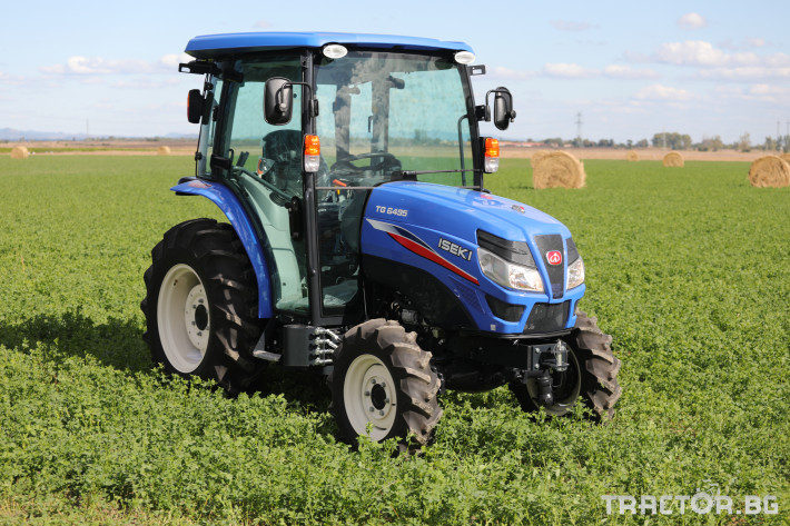 Трактори Iseki TG 6495 с кабина 2 - Трактор БГ
