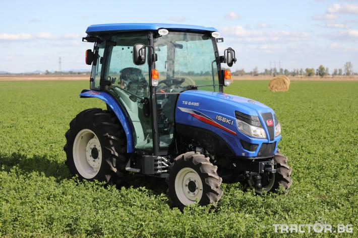 Трактори Iseki TG 6495 с кабина 5 - Трактор БГ