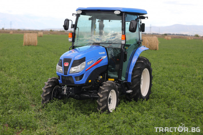 Трактори Iseki TG 6495 с кабина 6 - Трактор БГ
