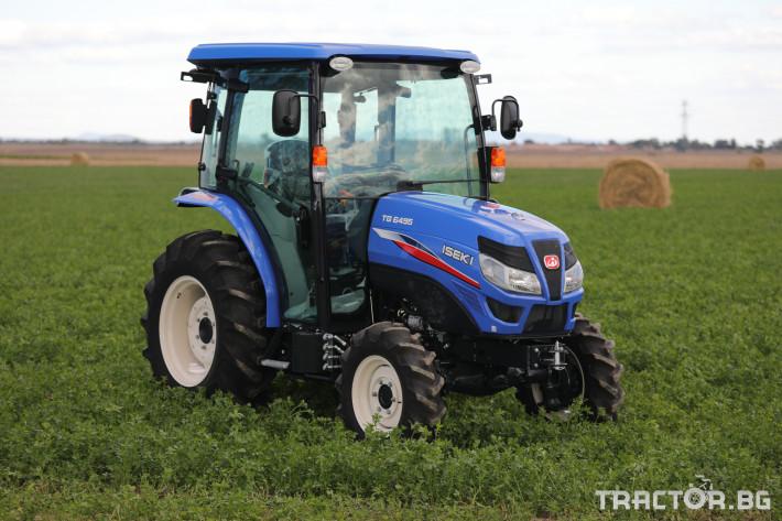 Трактори Iseki TG 6495 с кабина 8 - Трактор БГ
