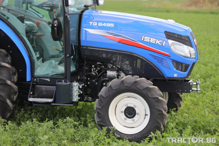 Трактори Iseki TG 6495 с кабина 9 - Трактор БГ