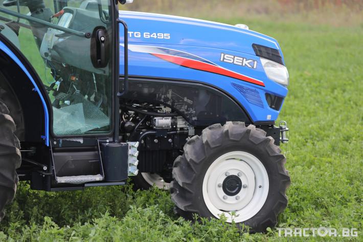 Трактори Iseki TG 6495 с кабина 10 - Трактор БГ