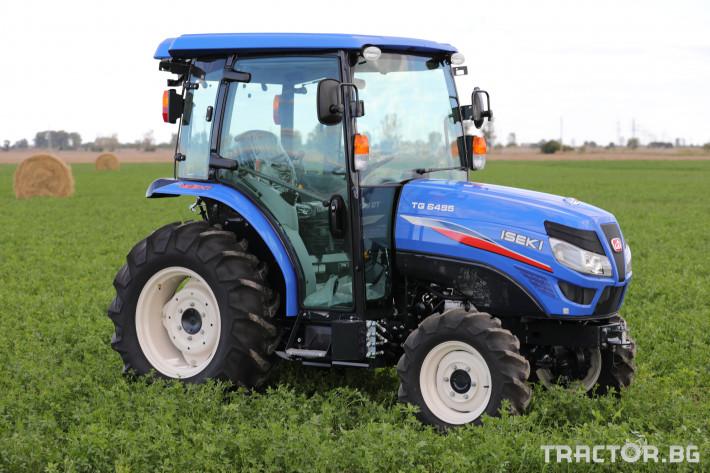 Трактори Iseki TG 6495 с кабина 12 - Трактор БГ