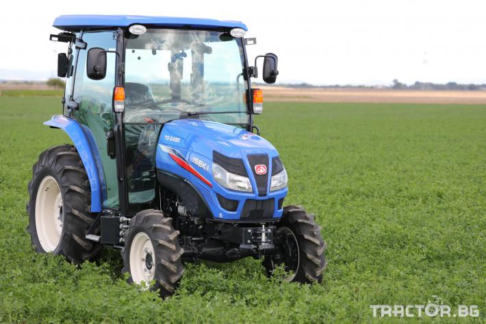 Трактори Iseki TG 6495 с кабина 14 - Трактор БГ