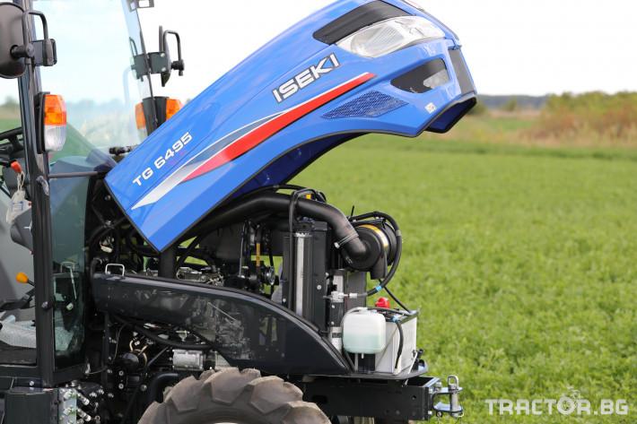 Трактори Iseki TG 6495 с кабина 18 - Трактор БГ