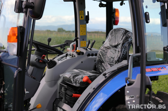 Трактори Iseki TG 6495 с кабина 20 - Трактор БГ