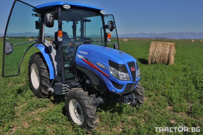 Трактори Iseki TG 6495 с кабина 23 - Трактор БГ