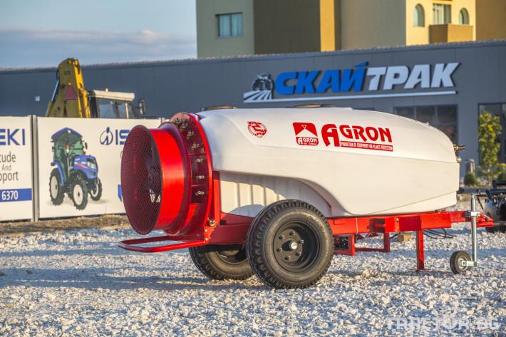 Пръскачки Прикачни вентилаторни пръскачки Agron 6 - Трактор БГ