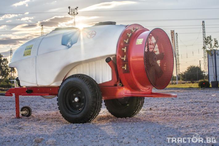 Пръскачки Прикачни вентилаторни пръскачки Agron 9 - Трактор БГ