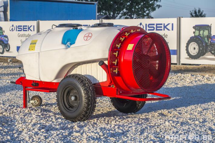 Пръскачки Прикачни вентилаторни пръскачки Agron 12 - Трактор БГ
