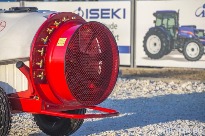 Пръскачки Прикачни вентилаторни пръскачки Agron 13 - Трактор БГ