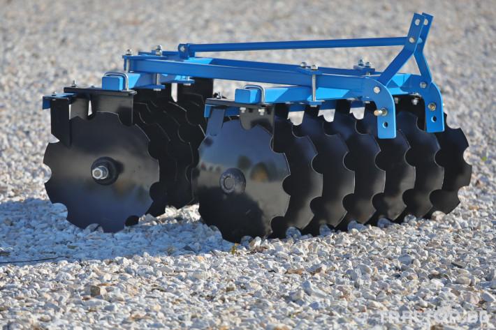 Брани Брана дискова навесна V-образна 1 - Трактор БГ