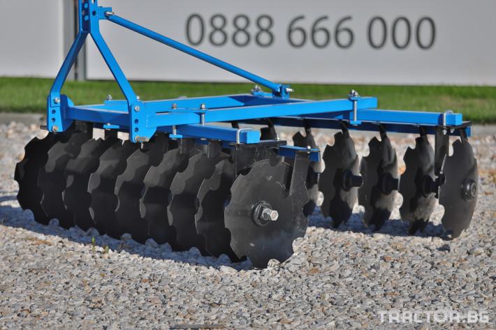 Брани Брана дискова навесна V-образна 13 - Трактор БГ
