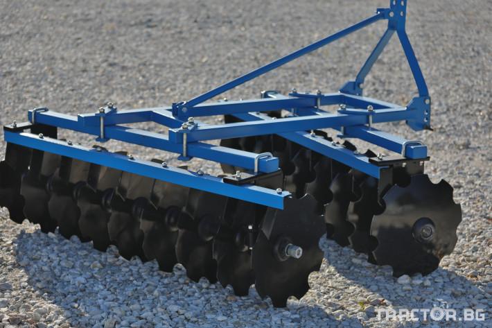 Брани Брана дискова навесна V-образна 15 - Трактор БГ