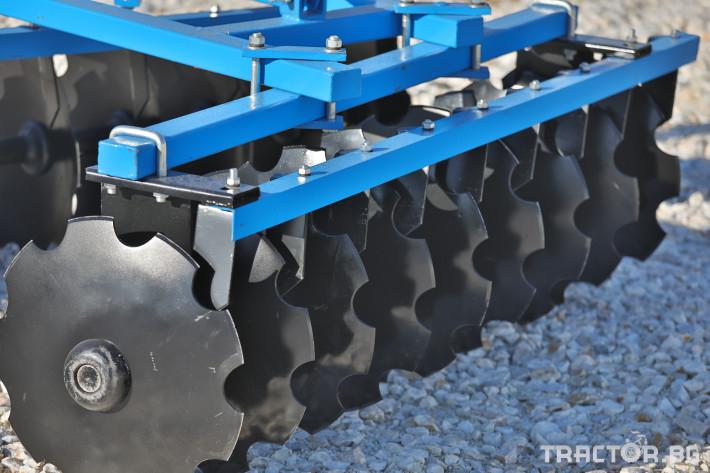 Брани Брана дискова навесна V-образна 16 - Трактор БГ