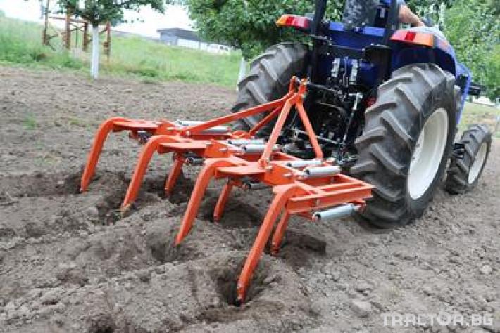 Култиватори Култиватор лозаро-овощарски с активно пружинно окачване 8 - Трактор БГ