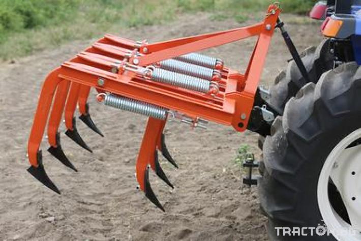 Култиватори Култиватор лозаро-овощарски с активно пружинно окачване 9 - Трактор БГ