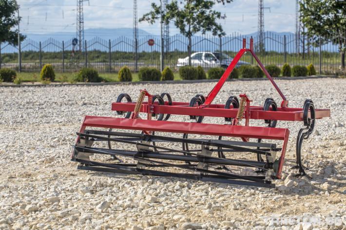 Чизели Култиватор за слята обработка с валяк - тип чизел 3 - Трактор БГ