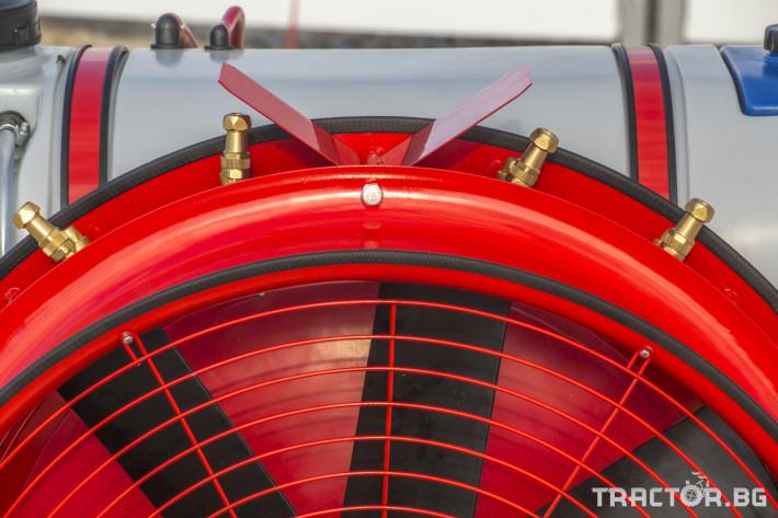 Пръскачки Навесна пръскачка вентилаторна AGRON 4 - Трактор БГ