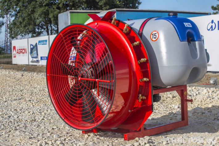 Пръскачки Навесна пръскачка вентилаторна AGRON 1 - Трактор БГ