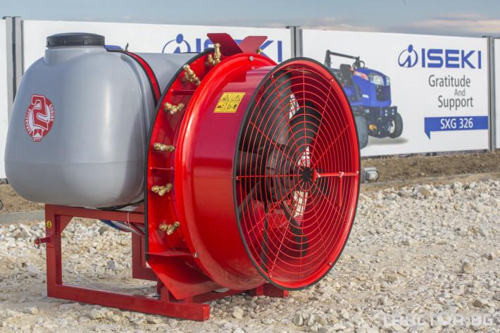Пръскачки Навесна пръскачка вентилаторна AGRON 2 - Трактор БГ
