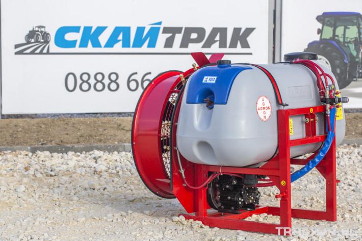 Пръскачки Навесна пръскачка вентилаторна AGRON 0 - Трактор БГ
