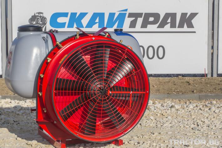 Пръскачки Навесна пръскачка вентилаторна AGRON 3 - Трактор БГ