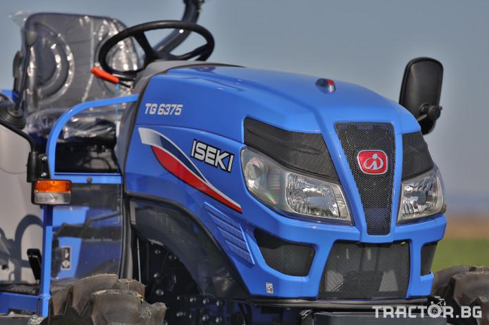 Трактори Iseki TG 6375 3 - Трактор БГ