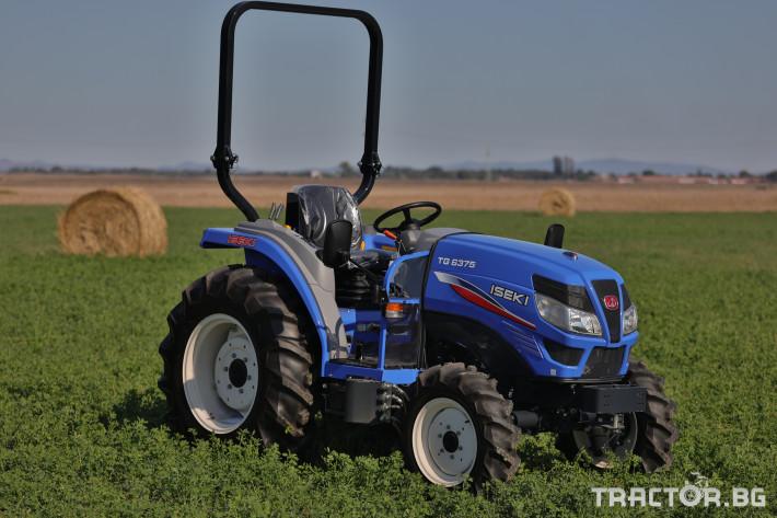 Трактори Iseki TG 6375 4 - Трактор БГ