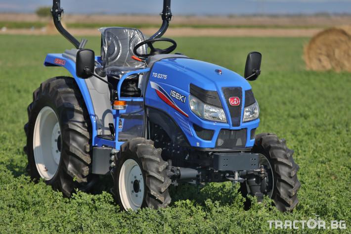 Трактори Iseki TG 6375 7 - Трактор БГ
