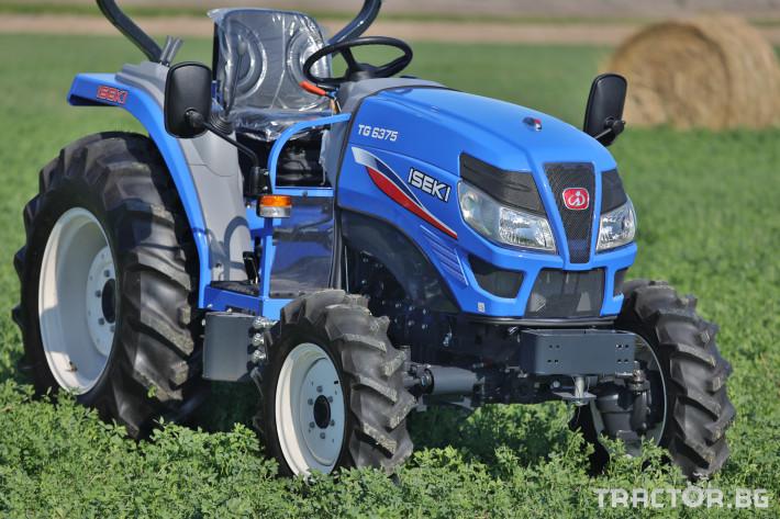 Трактори Iseki TG 6375 8 - Трактор БГ