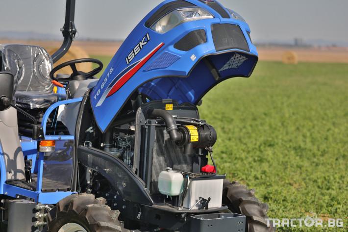 Трактори Iseki TG 6375 18 - Трактор БГ