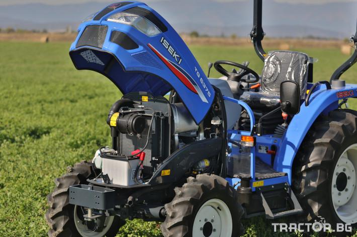 Трактори Iseki TG 6375 19 - Трактор БГ