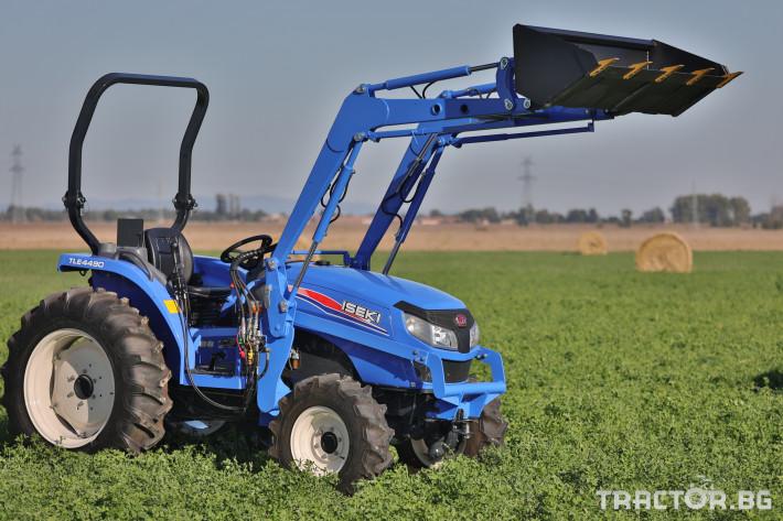 Трактори Iseki TLE4490 3 - Трактор БГ