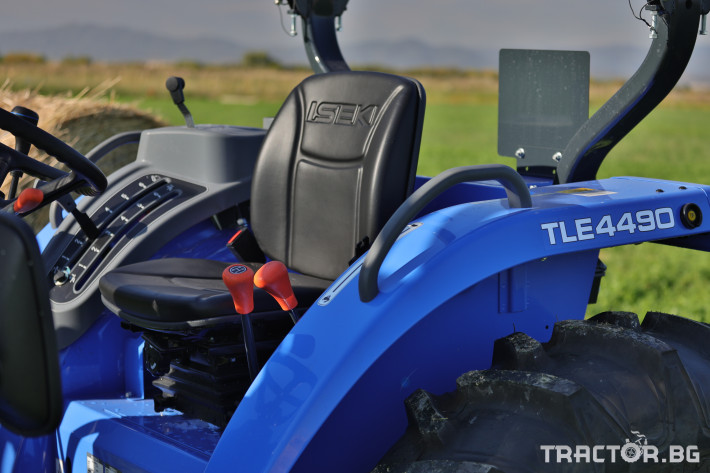 Трактори Iseki TLE4490 6 - Трактор БГ