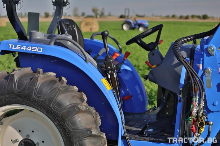 Трактори Iseki TLE4490 10 - Трактор БГ