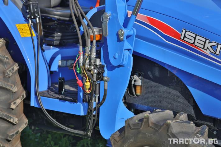 Трактори Iseki TLE4490 14 - Трактор БГ