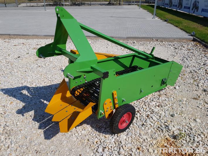 Машини за зеленчуци КАРТОФОВАДАЧ ЛЕНТОВ MOHORIDIS ЕДНОРЕДОВ 0 - Трактор БГ