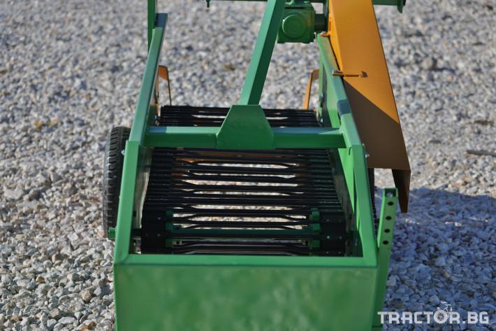 Машини за зеленчуци КАРТОФОВАДАЧ ЛЕНТОВ MOHORIDIS ЕДНОРЕДОВ 10 - Трактор БГ