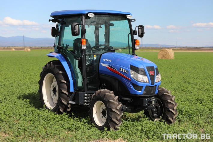 Трактори Iseki TG6675 9 - Трактор БГ
