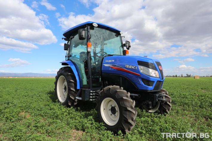 Трактори Iseki TG6675 2 - Трактор БГ
