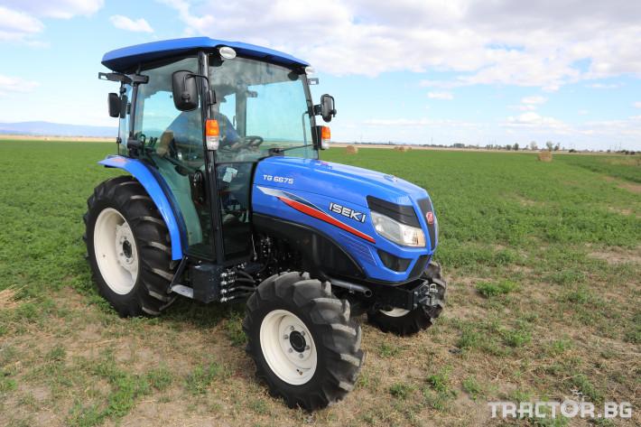 Трактори Iseki TG6675 5 - Трактор БГ