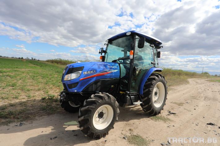 Трактори Iseki TG6675 7 - Трактор БГ